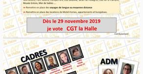 La CGT la Halle en force