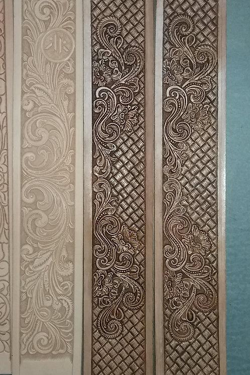 Custom Plain Stitched Belt