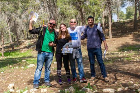 ניווט לחברות וארגונים ביער חוף הכרמל
