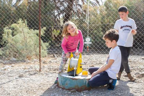 ניווט לילדים עינות צוקים