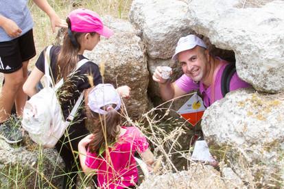 ניווט משפחות יער אשתאול