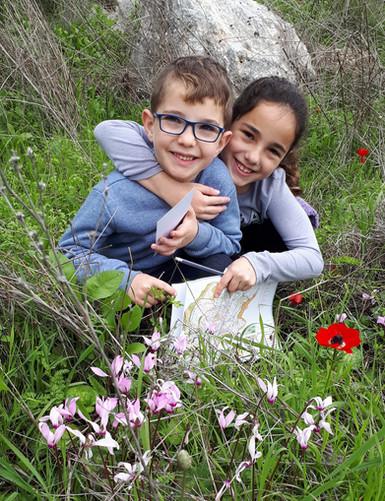 ניווט לילדים יער המגינים