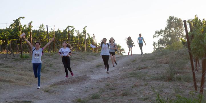 ריצת ניווט לתלמידים