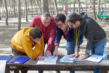 ישיבת צוות בהכשרת מנהלים