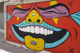 אמנות רחוב נווה צדק