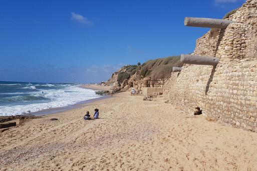 חוף הים תל אשקלון