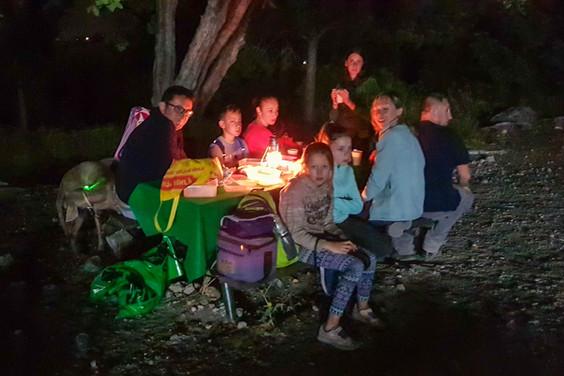 ניווט לילה למשפחות מצפה הראל