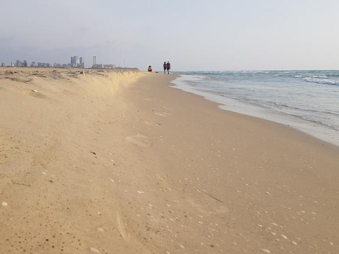 פעילות ניווט בחוף חדרה