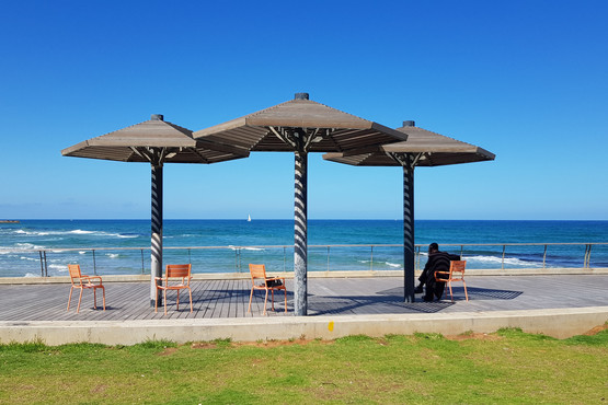 חוף נמל תל אביב