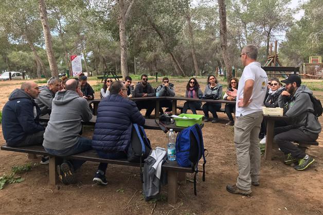 התכנסות קבוצה יער בארי