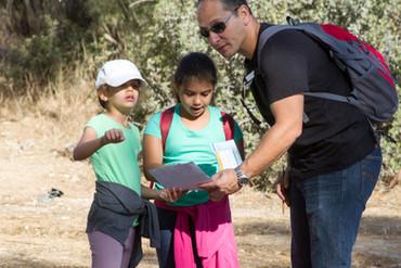 פעילות ניווט לילדים