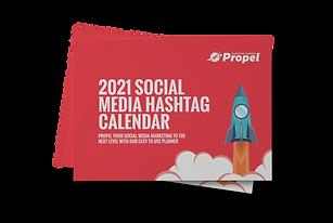social media hashtag holiday calendar 2021