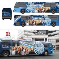 KU Bus Wrap