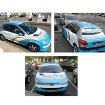 Spazio Clinic Company Car Graphics
