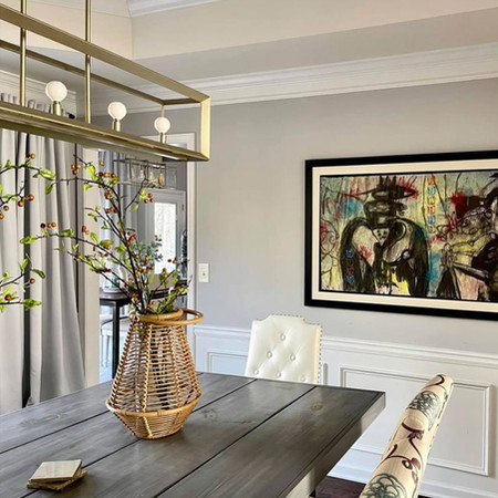 Dining Room Design at a Client's Home