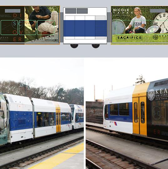 KU Train Wrap