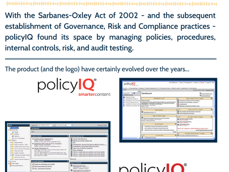 policyIQ Continues to Evolve.  Take a Look Back (and Forward!)