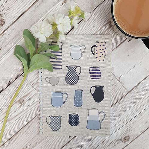 A5 Lovely Jugs Notebook