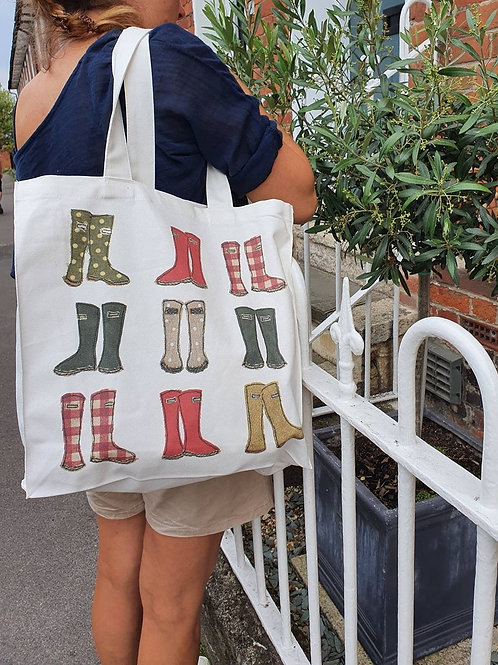 Wellington Canvas Bag