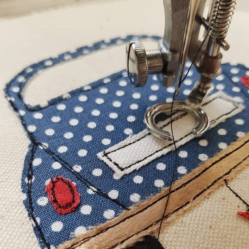 Beginners Freehand Machine Embroidery Workshop (Witney) - Sun 17th October 2021