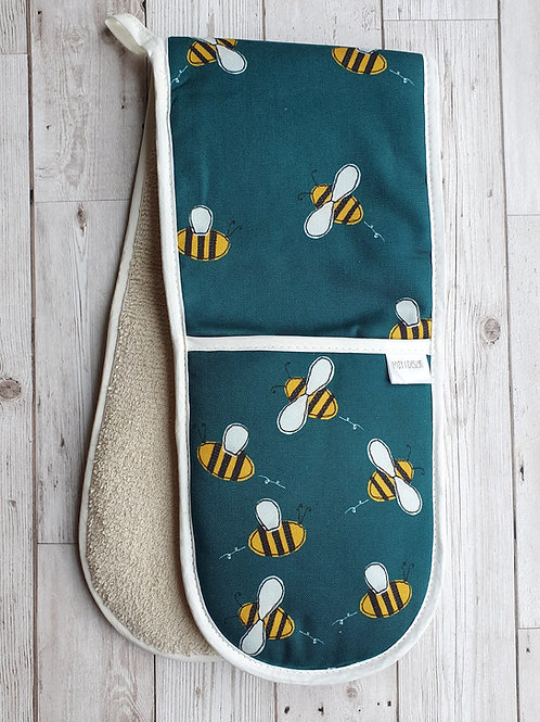 Bee Double Oven Glove