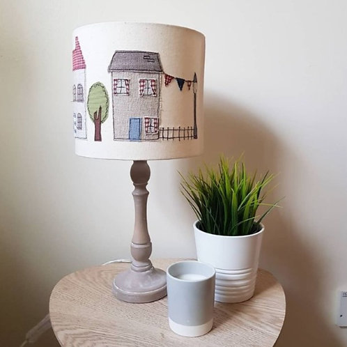 Freehand Machine Embroidered Lampshade Workshop (Witney) Sun 7th November 2021