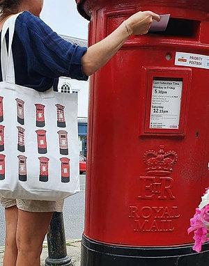 Postbox Canvas Bag