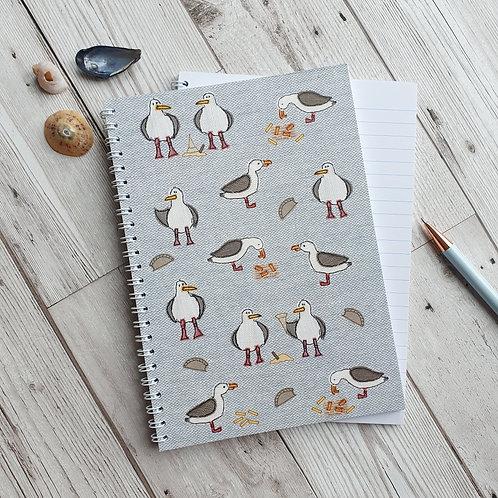 Seagull Notebook