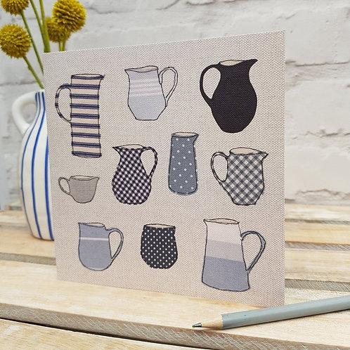 Lovely Jugs Card