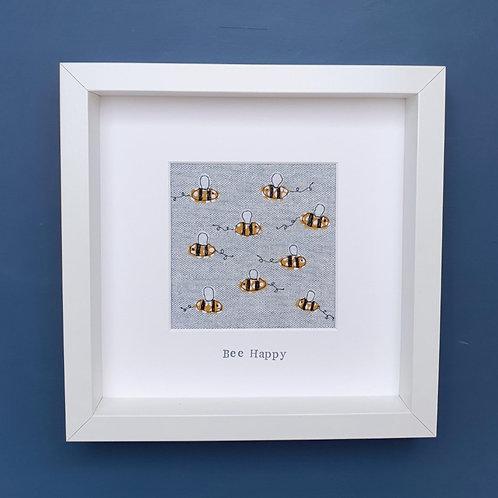 'Bee Happy' Original Stitch