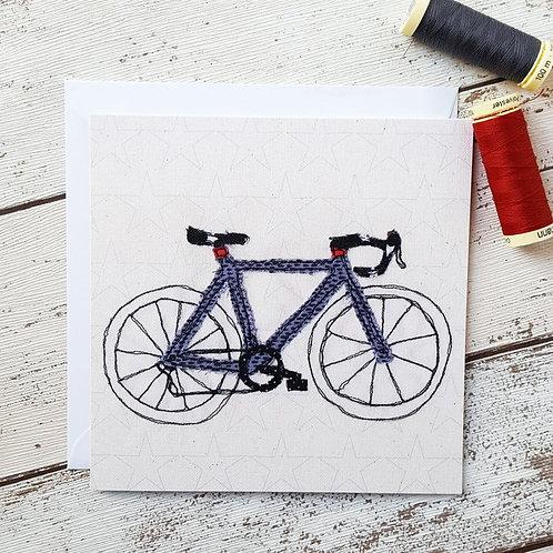 Racing Bike Card