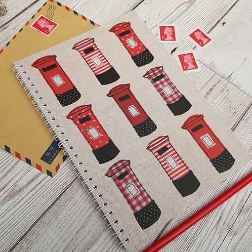 A5 Postbox Notebook