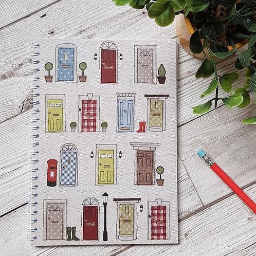 A5 Doors Notebook