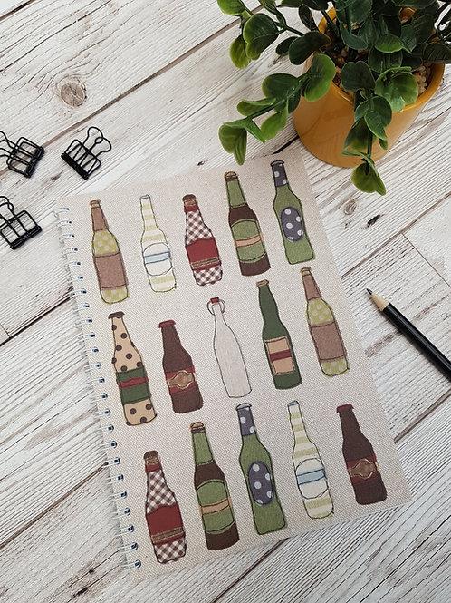 A5 Bottle Notebook