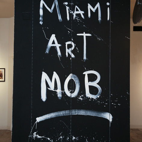 Miami Art Mob wall