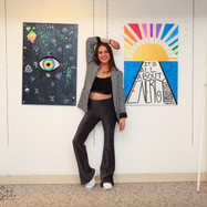 Miami Art Mob - artist Clementine Huet