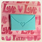 One of my #carved #stamps #valentinesday