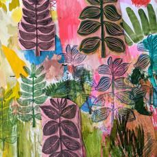 Leaf Print Play