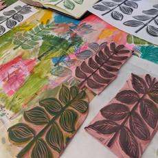 Large Leaf Print
