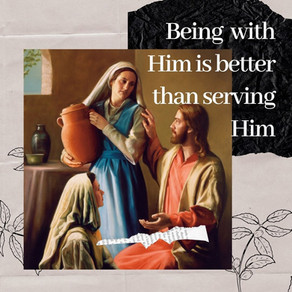 Adoration Is Better Than Service