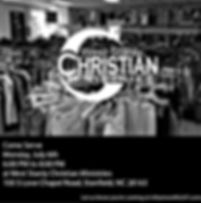 West Stanly Christian Ministries July 6t