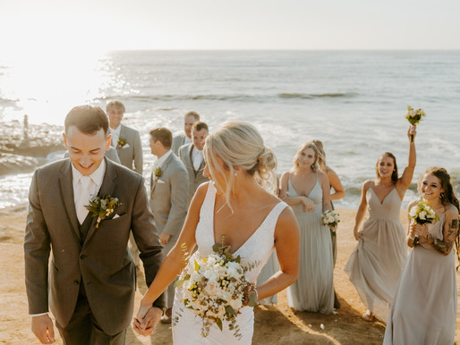 San Diego Beachside Wedding | Olivia + Chris