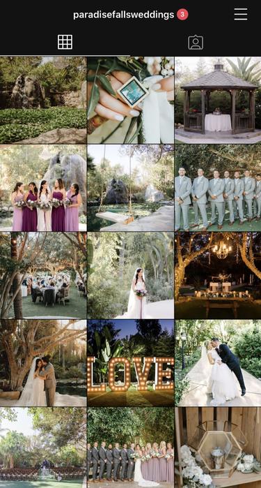 Paradise Falls Instagram Content Creation