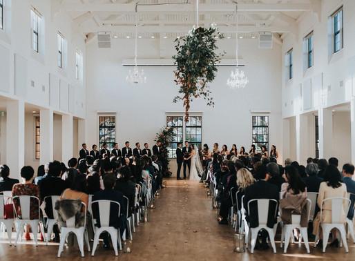 A Modern, Jewel Tone Inspired Point Loma Wedding  | Betty + Jason