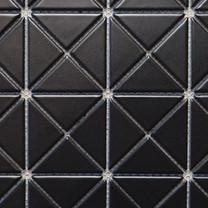 Triangle pure black mosaic