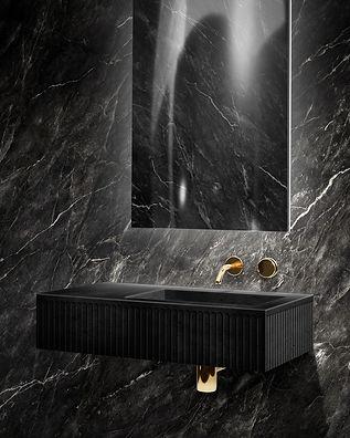 Meek Bathware Doric Vanity ECC concrete