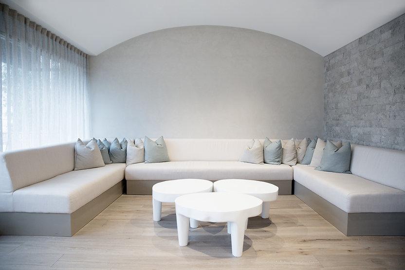 Grey timber flooring