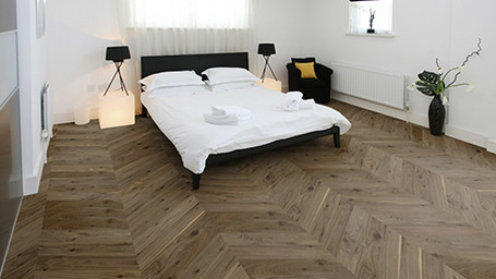 What's Trending: Chevron Timber Flooring