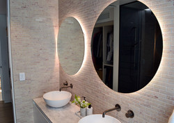 Pink Marble Tumbled with Biello