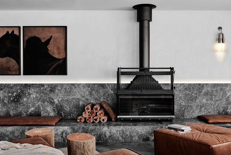 Damastas hearth & fireplace